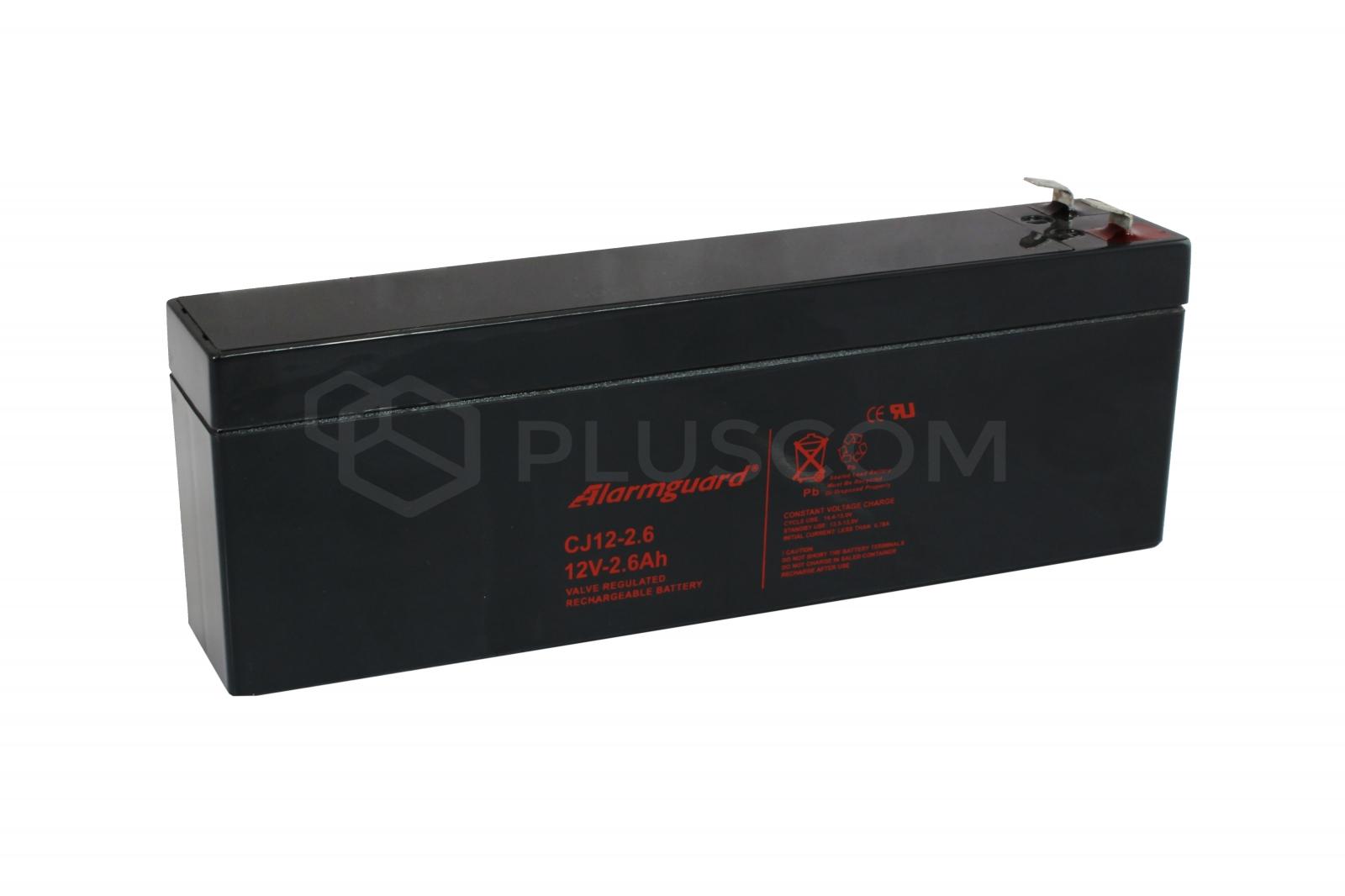 12V 2.6Ah Battery Alarmguard