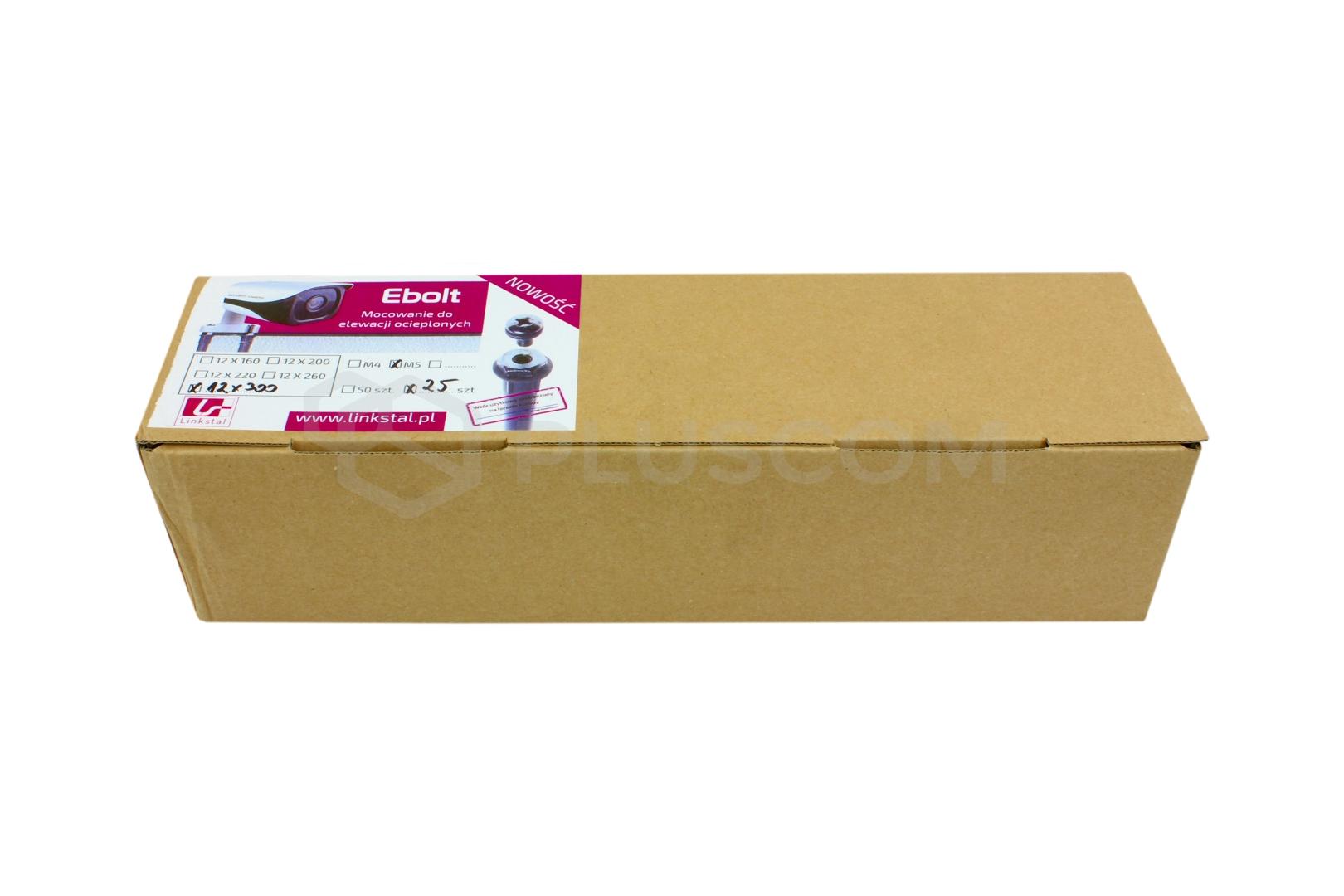 Ebolt 12x300 With Internal Thread M5