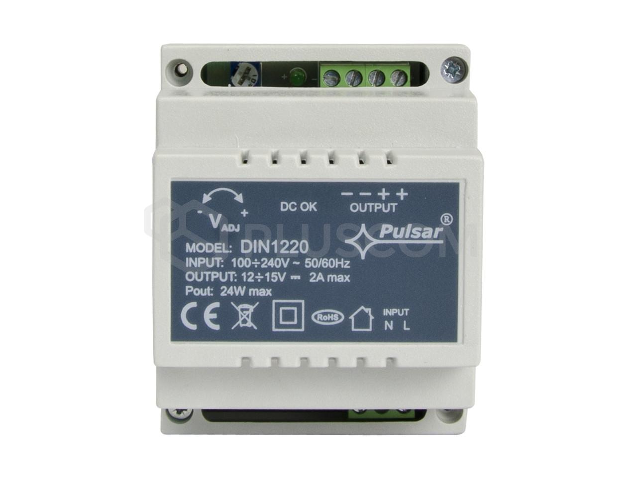 DIN1220 DC 12V 2A DIN rail power supply