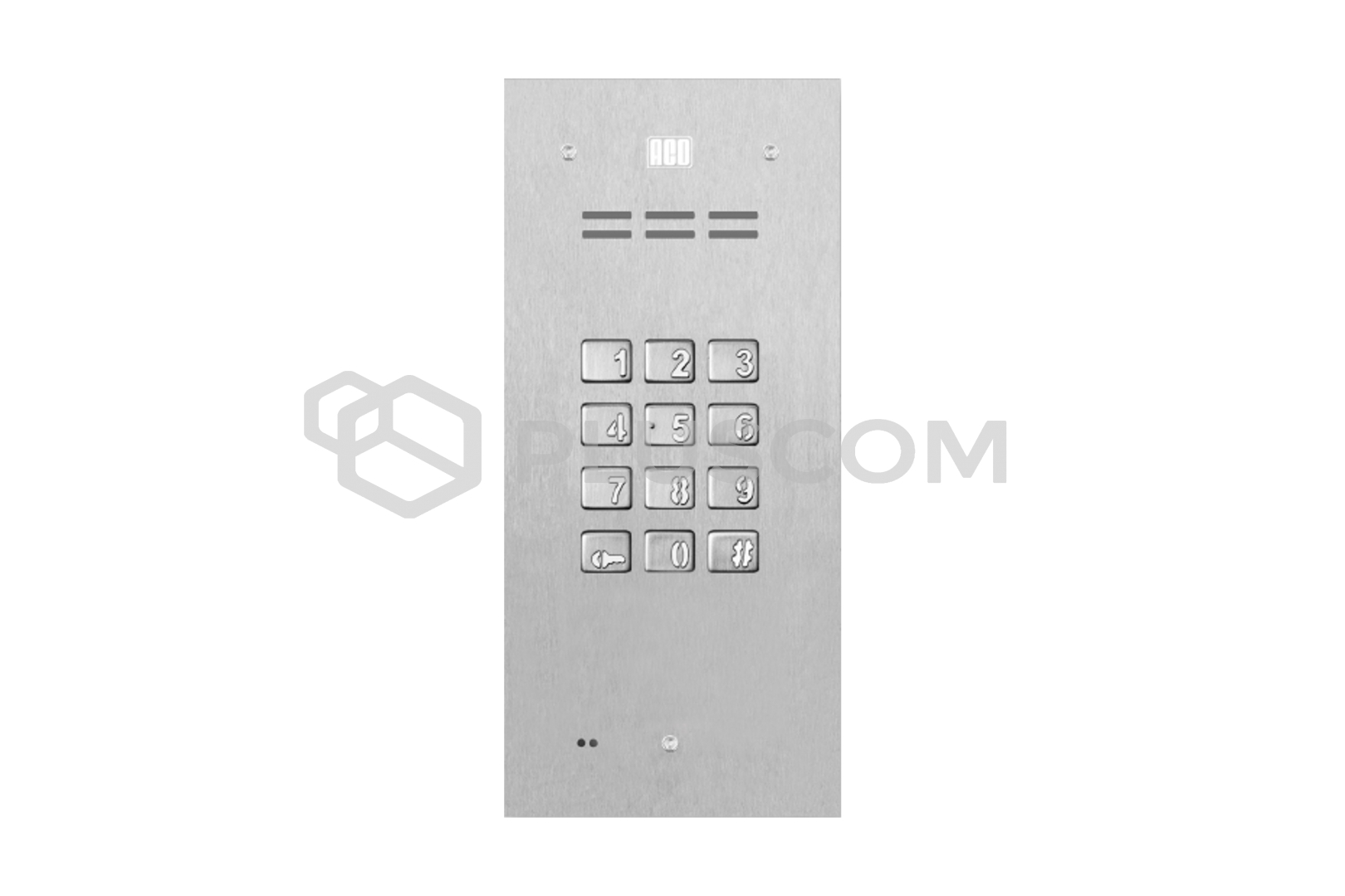 fam p zs digital door entry panel with keypad. Black Bedroom Furniture Sets. Home Design Ideas