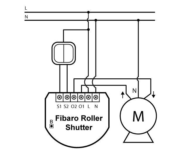 fibaro roller shutter 2 wiring diagram ga2140 5405 fibaro roller shutter 2 electric shutter wiring diagram at bayanpartner.co