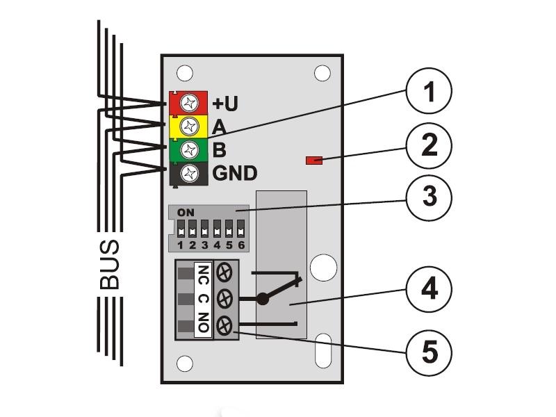 Jablotron Ja 110n Bus Power Output Module Pg 250 V