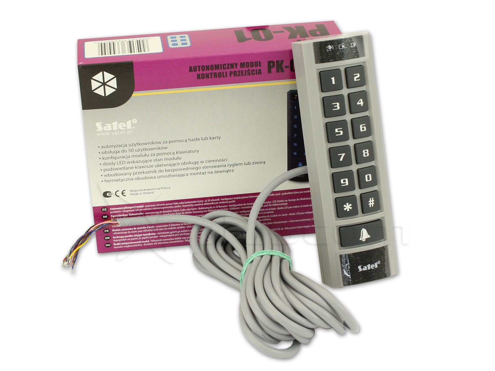 Satel PK-01 Standalone Door Control Module