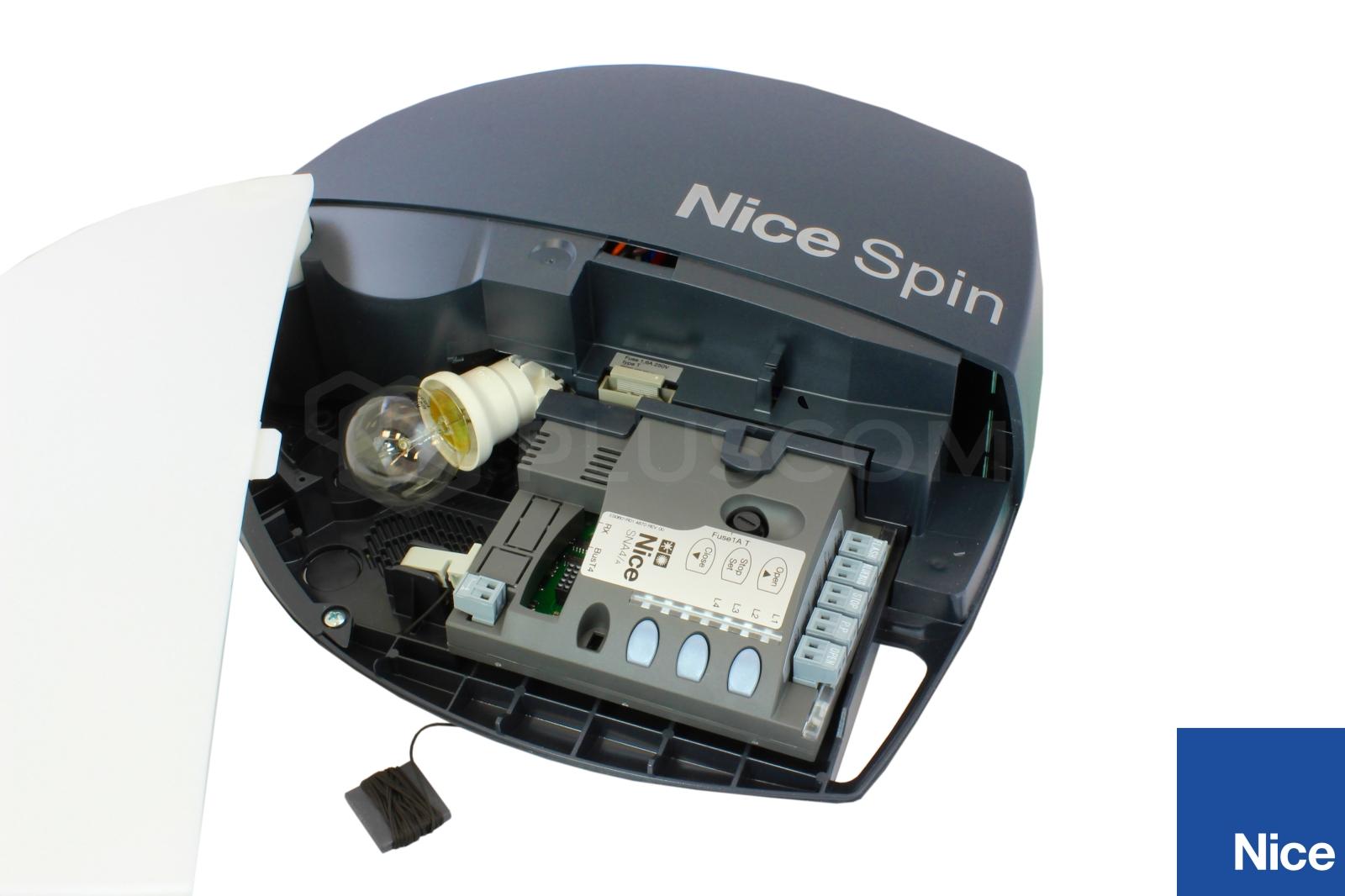 Nice Spin40 A Actuator For Garage Door Rail 3x1m