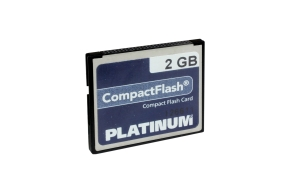 CompactFlash 2GB Platinium
