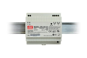 DR-100-24 MEAN WELL DC 24V/4,2A/100W DIN TS35