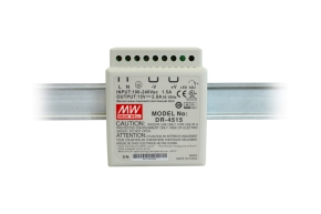 DR-4515 MEAN WELL DC 15V/2,8A/42W DIN TS35