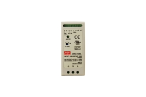 DRC-40B Mean Well DC 27,6V/40W/0,95A/0,5A/ DIN TS35