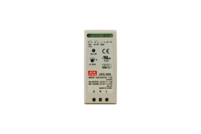 DRC-60B Mean Well DC 27,6V/60W/1,4A/0,75A/ DIN TS35